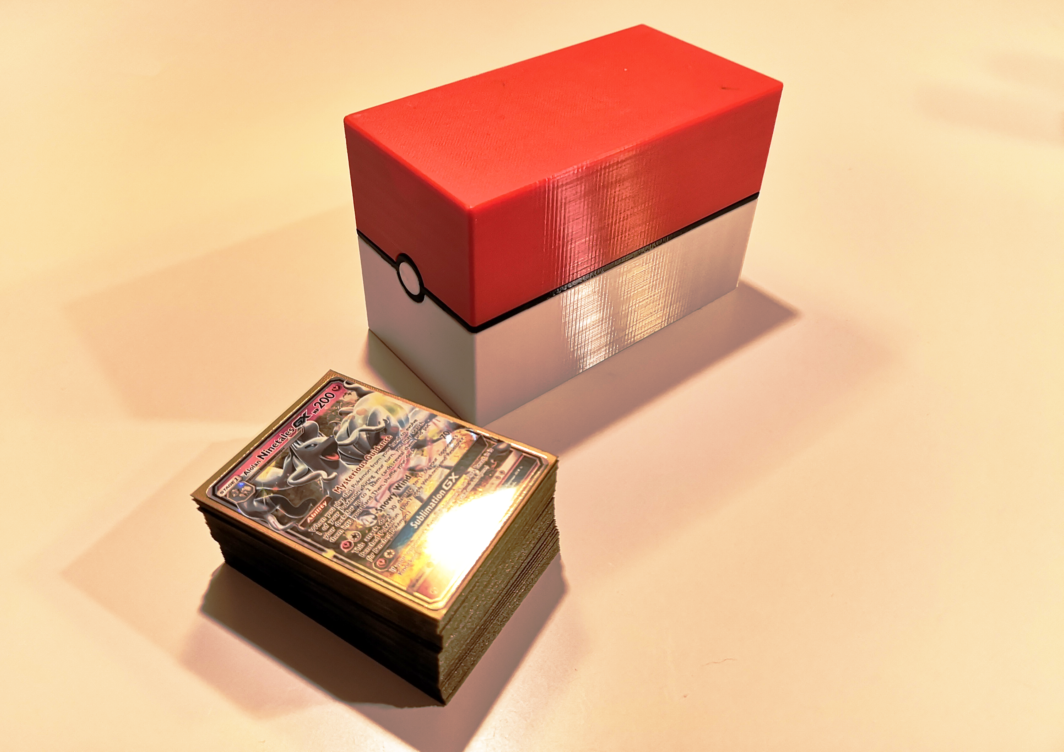 Pokemon cardbox closed