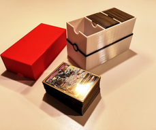 Pokemon cardbox open